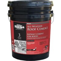 WET-R-DRI ALL WEATHER ROOF CEMENT, 5GAL