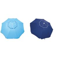 BEACH UMBRELLA 6FT SUNSHADE