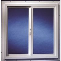 Duo-Corp 2020IGUT Double Slider Utility Window, 2 X 2 ft, Solid Vinyl