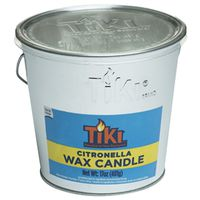TIKI Citronella 1412110 Galvanized Citronella Filled Candle Bucket