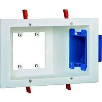 Flat Panel TV Mount Box, White