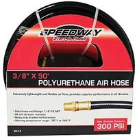 "Polyurethane Air Hose, 3/8""x50', 300PSI"