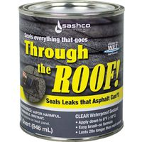 Sashco 14023 Through The Roof Roof Sealant