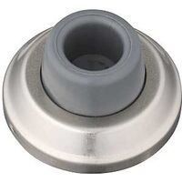 Concave Wall Door Stop, Nickel