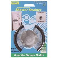 Whedon DP80C Shower Strainer With Chrome Ring