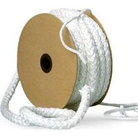 1INX25'' WH FGLASS ROPE