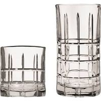 GLASS SET16PC CRYSTAL CHESTER