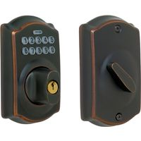 ELECTRONIC DEADBOLT AGED BRNZE