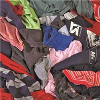 All Rags R301-25 Reclaimed Wiping Cloth
