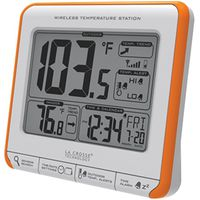 La Crosse 308-179OR Weatherstation Alarm Wireless Thermometer