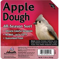Heath Outdoor DD-13 All Season Apple Dough Suet Cake