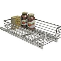 "Extra Deep Sliding Organizer, 12"" Chrome"
