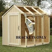 Peak Roof Shed Kit