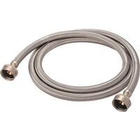 "3/4"" Fgh x 3/4"" Fgh 5' Stainless Steel Washing Machine Hose"