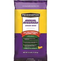 Pennington 100082633 Grass Seed, Annual Ryegrass, 25 Lb