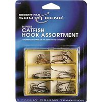 FISHING HOOK ASST CATFISH 36PC