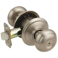 GEORGIAN PRIVACY KNOB PEWTER