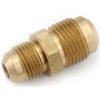 "Brass Flare Reducing Union, 1/2"" x 3/8"""