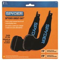 Spyder Scraper 100234 Multi-Pack Grout Remover Pack