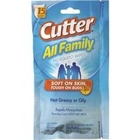 Spectrum HG-95838 Cutter Insect Repellent, Moist Wipes,