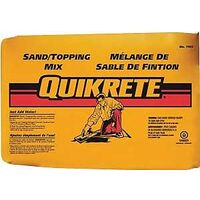 Quikrete Sand Topping Mix, 40 Lbs