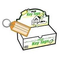 Easy Open Key Tag with Ring