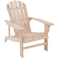 CHAIR ADIRONDACK NATURAL