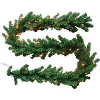 Canadian Pine Garland, 9 Ft