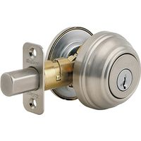 Kwikset 98015 Signature Single Cylinder Dead Bolt