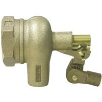 Bronze Float Valve, FLIPP 1-1/4