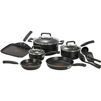 COOKWARE SET 12PC NONSTICK BLK