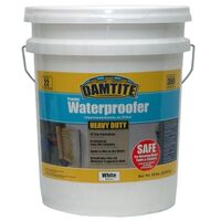 HEAVY DUTY WATERPROOF COATING WHITE, 50LB