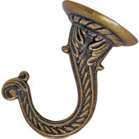 Antique Brass Ceiling Hook