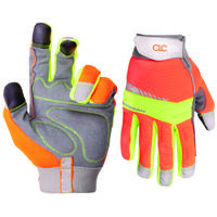 HI Visibility Gloves, Large