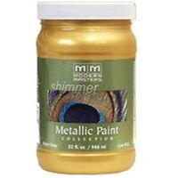 Modern Master Metallic Paint, 1 Qt  Pharaohs Gold