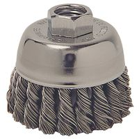 Weiler 36038 Extra Coarse Grade Knot Wire Cup Brush