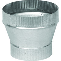 "Galvanized Increaser, 4"" x 6"" x 26 Gauge"