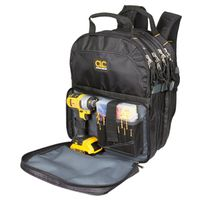 CLC Tool Works 1132 Tool Backpack 17-1/2 in L X 13 in W X 9 in D