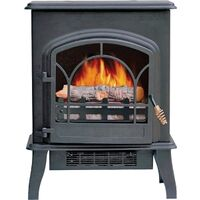 Electric Stove, 4500 BTU's Black