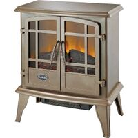 Electric Stove, 4600 BTU's Bronze