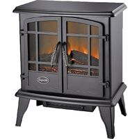 Electric Stove, 4600 BTU's Black
