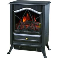 Ashton Electric Stove Heater, Black