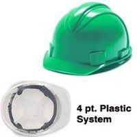 HARDHAT GREEN CHARGER 4PT SUS