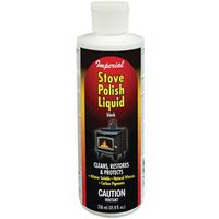 POLISH STOVE LIQUID 8OZ BLACK