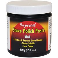 POLISH STOVE PASTE 6OZ BLACK