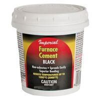 FURNACE CEMENT BLACK, 32OZ