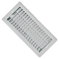 4 x 10, CEILING REGISTER WHITE