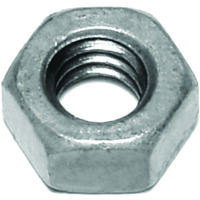 "Galvanized Hex Nut, 1/4""-20"