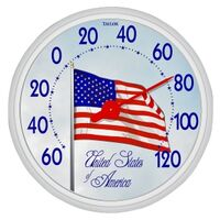 Flag Thermometer