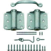 Full Screen Door Hinge Set Galvanized